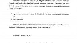 Convocatória Ass Geral Março 2018